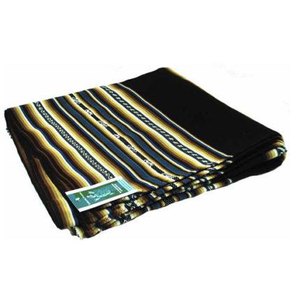 Fairtrade South American Bright Thick Aguayo Blanket Throw Shawl 1.3M X 1.3M 169