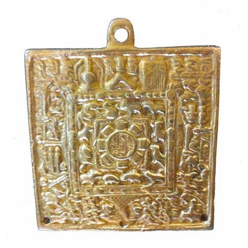Tibetan Brass Buddhist Lunisolar Calendar Buddhism Meditation Lunar Prayer 335
