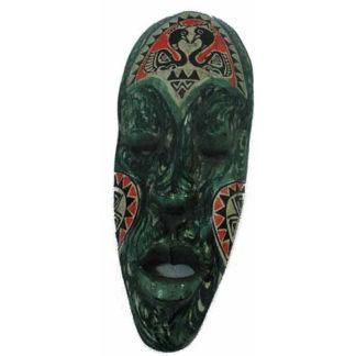 Fair Trade Indonesian Balinese Wooden Traditional Mask (30Cm)(Luk7)