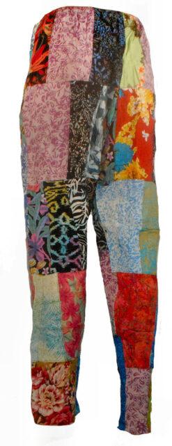 Batik patchwork trousers