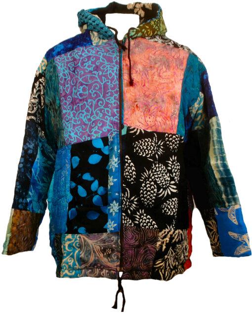 Batik Pachwork Hoody