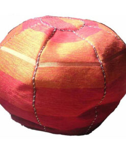 Fairtrade Moroccan Woven Sabra Silk Textile Bean Bag Beanbag Pouffe Cover 544 Or