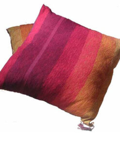 Fair Trade Moroccan Woven Contemporary Textile Cushion Cover Covers 545 Red