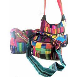Bright Patchwork Guatemalan Mayan Tribal Shoulder Bag Hippy Satchel Travel M32