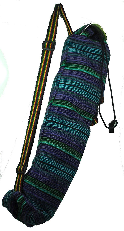 Hippy Bright Funky Fun Boho India Nepal Yoga Mat Bag