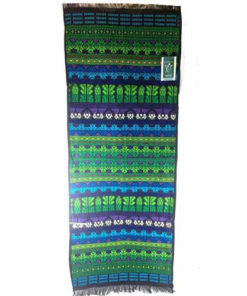 Mayan Table Runner/ Wall Hanging 104Cmx 43Cm 3 Colours Avail Tribal Tapestry M39