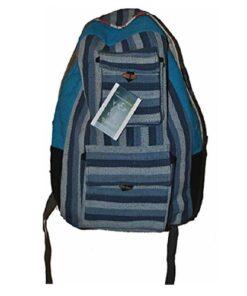 Hippy Multicoloured Canvas Uttam Backpack Travel Festival Bag Rucksack N28