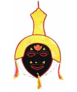 Authentic Tibetan Monk / Lama Cermonial Festival Hat Bought At Boudanath Temple