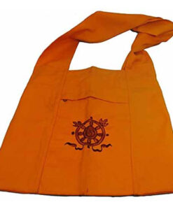 Authentic Tibetan Monk / Lama Bag Bought At Boudanath Temple