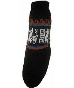 Fair Trade Peruvian Soft Alpaca Wool Warm Winter Thick Socks Size 4-7 Hippy 184B