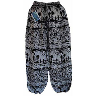 Fair Trade Nepal Elephant Hippy Festival Travel Comfy Trousers Pants N60