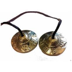 4cm Spiritual Nepalese Tingsha Timsha Bells Meditation Relaxation Buddhist Tb1F