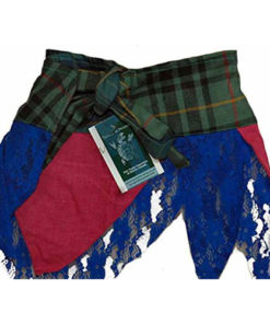 Scottish Designer Tartan Kilt Skirt ( Goth Steampunk Psytrance Tribal )