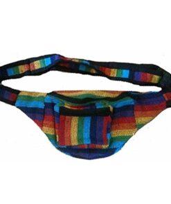 Fair Trade Hippy Nepalese Bumbag Wallet Purse Security Waist Belt Travel Bag Xx