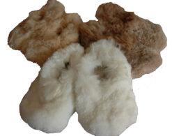 Alpaca Fleece Slippers