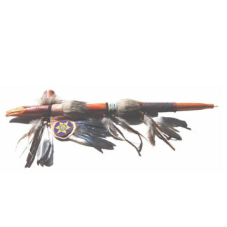Fair Trade Peace Pipe Hand Carved Native American Indian Eagle