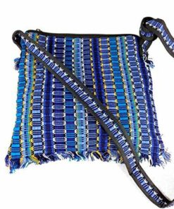 Bright Hippy Mexican Import Mayan Shoulder Messenger Festival Travel Bag M43