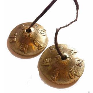 5.5cm Spiritual Nepalese Tingsha Timsha Bell Meditation Relaxation Buddhist