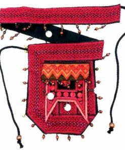 Ethical Tribal Hmong Intricate Handmade Bumbag Waist Purse Bag Hippy Festival