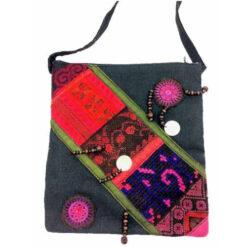 Ethical Tribal Shoulder Hand Handbag Hippy Hmong Travel Bag