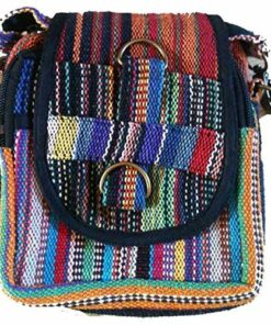 Fairtrade Hippy Nepalese Bumbag Wallet Purse Security Waist Belt Travel Bag W2