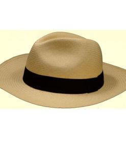 Fair Trade Grade 12 Montecristi Superfino Ecuadorian Rolling Panama Hat 3XL fedora toquilla straw