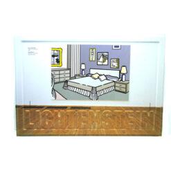 ROY LICHTENSTEIN 3d print Tate Modern 19 x 13.5 inch / 48 x 34cm NEW