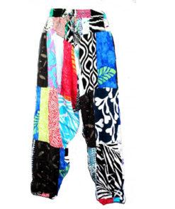 Fairtrade Patchwork Hippy Hareem Harem Aladdin Pants Festival Travel Trousers