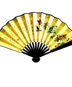 Fair Trade Vietnamese Vietnam Large Silk Fans - 7 designs