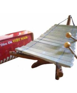 Fair Trade Vietnamese Stone Xylophone Dan Da Wooden Gift Boxed 1202