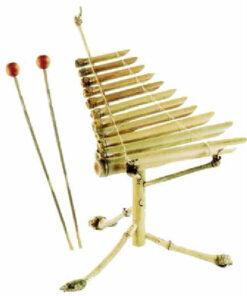 Fairtrade Vietnamese Traditional Bamboo Xylophone Dan Da Ethnic Percussion 1201