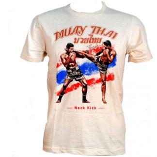 Genuine Muay Thai Boxing Tshirt T Shirt S-Xl Bought In Thailand