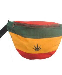 Mens Cotton Hip Waist Bum Bag bumbag festival rasta hash reggae money belt TH79