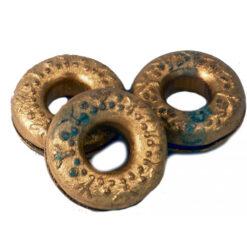 1 X Fair Trade Vietnamese Brass Ring Finger Bell 5.5Cm Diameter Bells