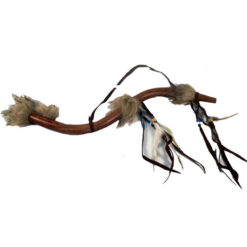 Fair Trade Feather Peace Pipe Hand Carved Replica Native American Indian Wing