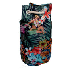 Fun Flower Hawaii Holiday Beach Contemporary Pop backpack Bag Shoulder Satchel - Medium