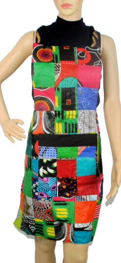 kitenge print apron