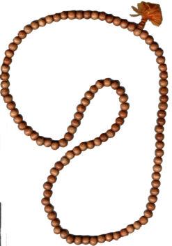Wood Mala Beads