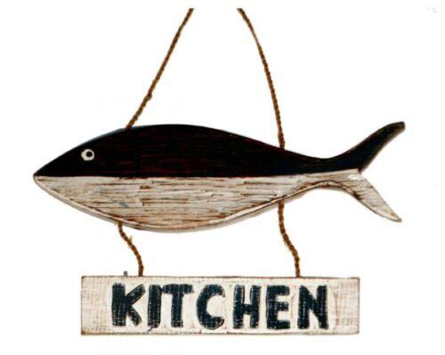 Driftwood Fish Sign